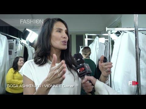 An Inside Look | VIONNET Fall 2018 Milan - Fashion Channel