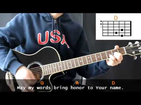 Marc Schelske - Father God ( Just For Today ) Cover With Guitar Chords Lesson
