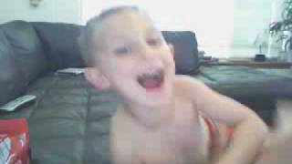 Laughing babies - Kids first time using a webcam - cute toddlers