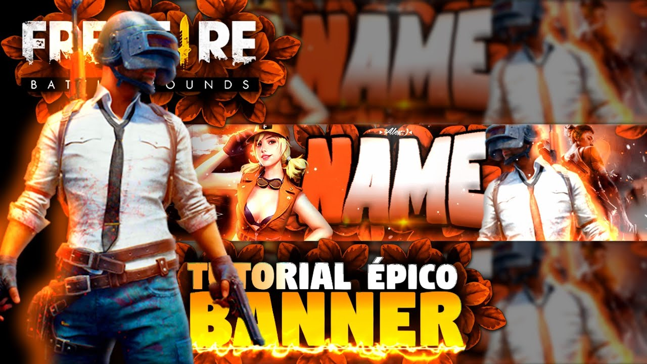 Tutorial Como Fazer Banner épico De Free Fire No Android Youtube