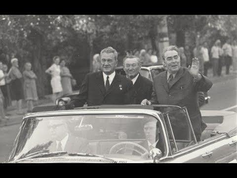 Леонид Ильич Брежнев в Алма-Ате (1972 год)