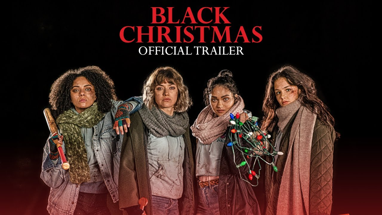 Black Christmas trailer door Blumhouse Productions