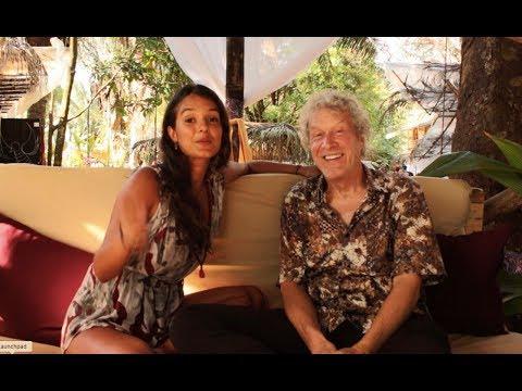 Thatja Andrade Interviews John Perkins at Envision Festival