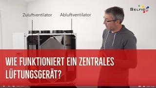 Wie funktioniert ein zentrales Lüftungsgerät?