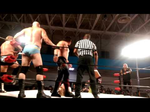 Immortal W.A.R vs the Lost Boys AWA Wrestling 8/2016