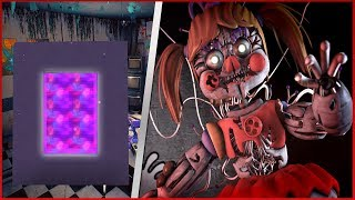 COMO FAZER UM PORTAL PARA O MUNDO DO FIVE NIGHTS AT FREDDY'S 6 ( FNAF 6 ) - Minecraft