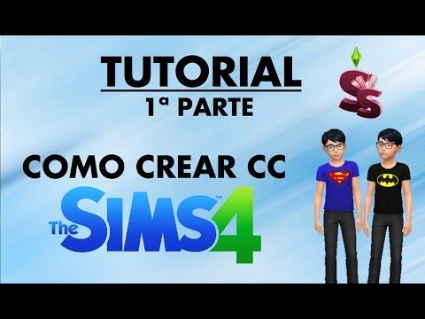 Como crear contenido personalizado con Sims4studio | Los Sims 4 | Parte 1