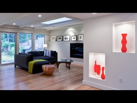 Recessed Wall Niche Decorating Ideas - YouTube