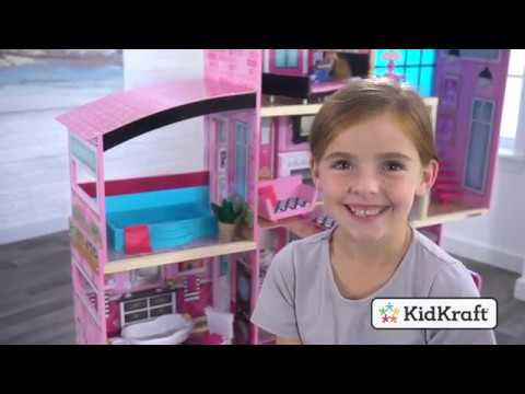 Shimmer Mansion Dollhouse Toy Demo By Kidkraft Youtube