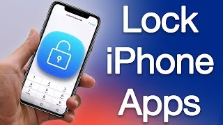 PASSCODE LOCK Apps on iPhone.