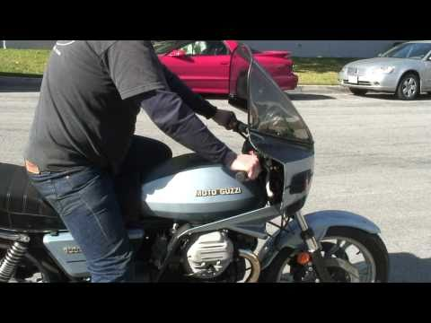 Moto Guzzi SP test drive in HD (Sold)