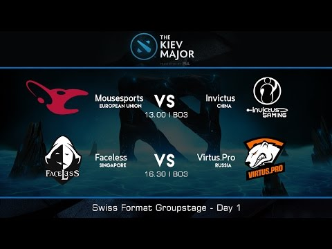 The Kiev Major 2017  : Swiss Groupstage Day 1 - [Thai Caster]