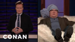 Conan & Andy Learn About The Scandinavian Art Of Kjoosh - CONAN on TBS