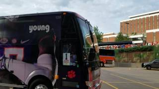 TigerNet.com- Clemson arrives at Auburn
