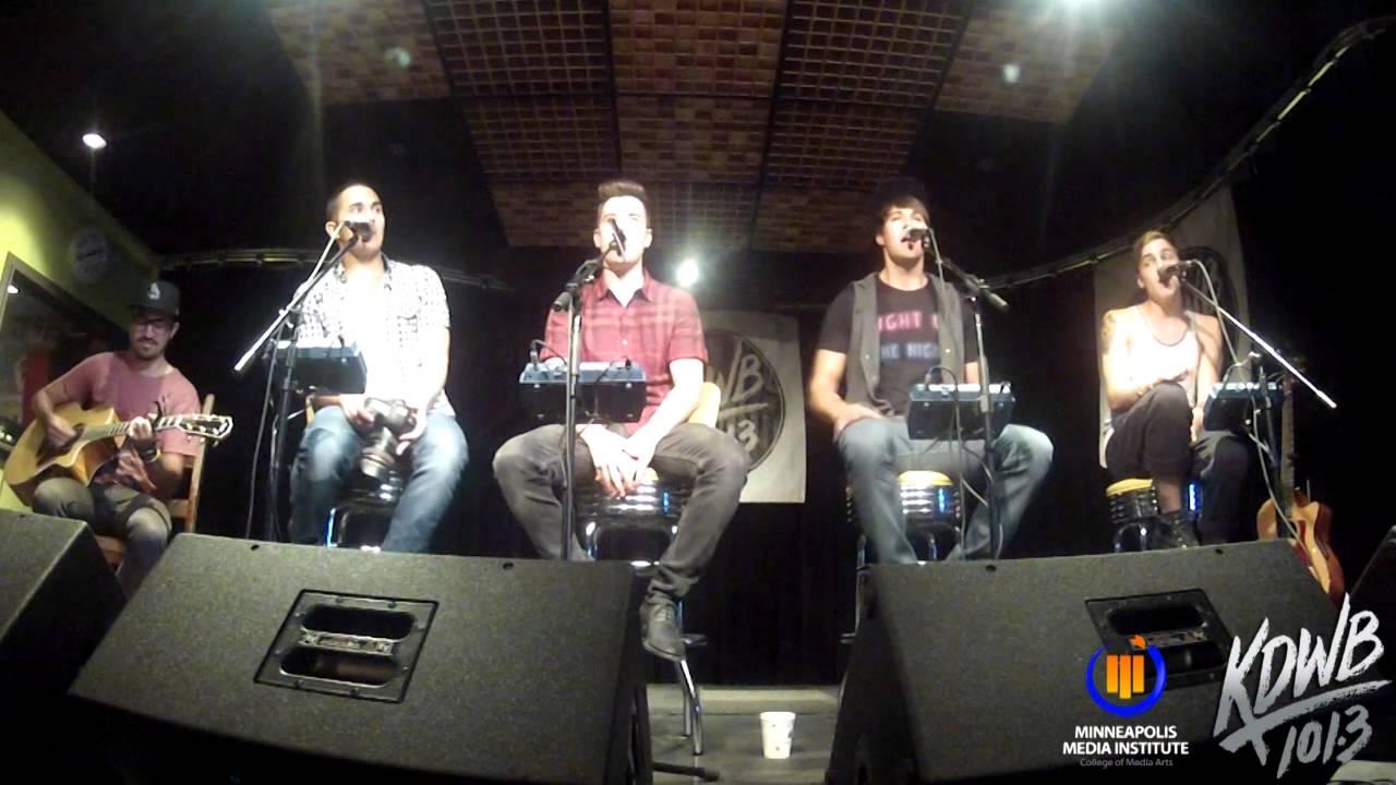 Sky Room Live Part - 16: Big Time Rush U0027Boyfriendu0027 Live In The KDWB Skyroom