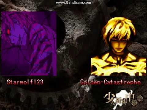 MUGEN Starwolf123 vs Golden-Catastrophe