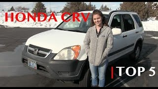 5 Best Things about the Honda CRV
