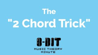 "Music Theory Minute #3.1 - The ""2 Chord Trick"""