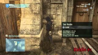 Assassin's Creed Unity: Dead Kings DLC Suger's Legacy Riddles - I - Nativitatis et Mortis
