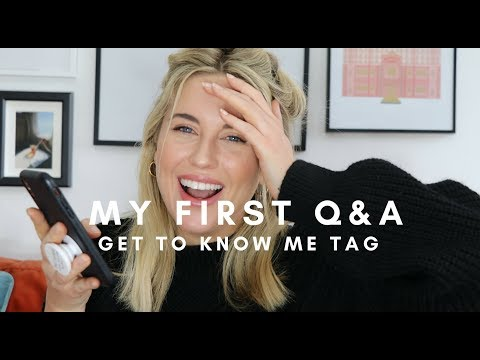 MY FIRST GET TO KNOW ME Q&A    STYLE LOBSTER