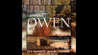 Welcome to Sweet Owen County Indiana!