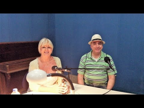 Denise Phillips with Chris Krzentz on BRTK Cyprus Radio (2018)