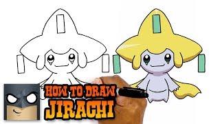 How to Draw Jirachi   Pokemon (Art Tutorial)
