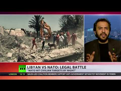 'NATO Intentionally Hit Civilian Targets' Libyan Man Sues Alliance For 2011 Bombing