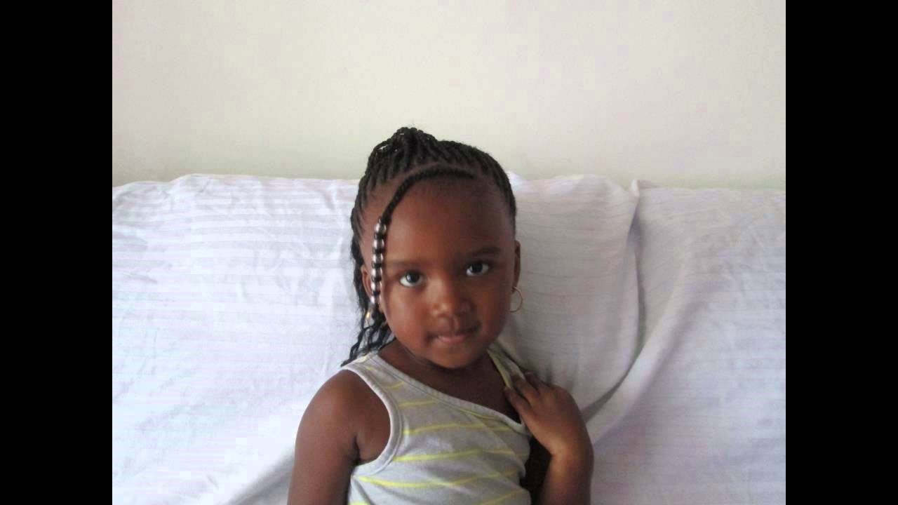 hairstyle for 3 year old girls (braids)