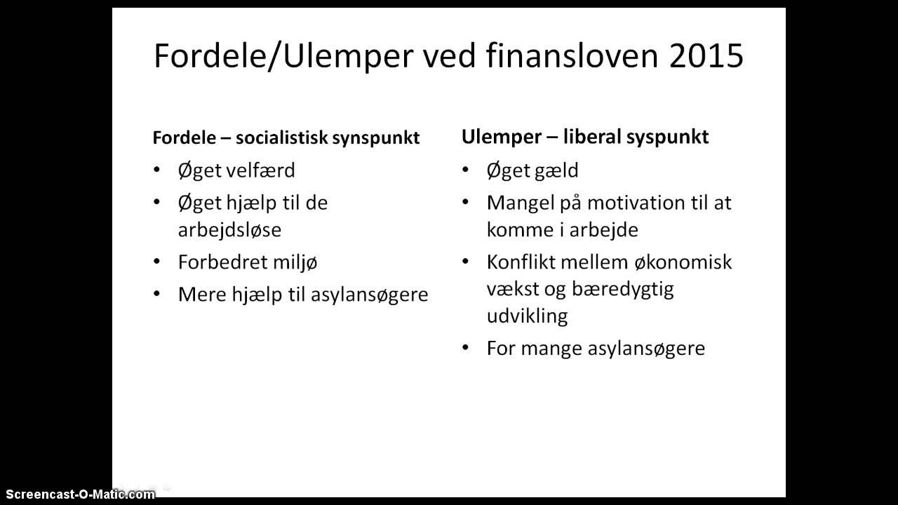 Mikkel 2,N - Dansk økonomi (samfundsfag)