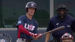 Highlights: USA v Korea - U-18 Baseball World Cup 2019