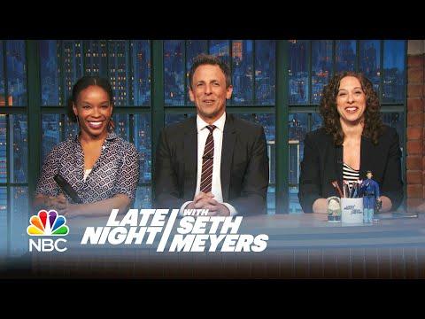 Jokes Seth Can't Tell: Youngest African-American Pilot, Lesbian Break-Ups