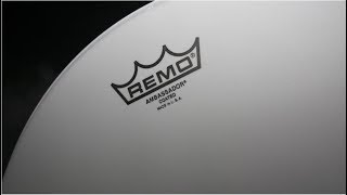 "Remo Ambassador Coated 14"" / Test on Sonor AS 12 1406 Bronze Artist Snare"