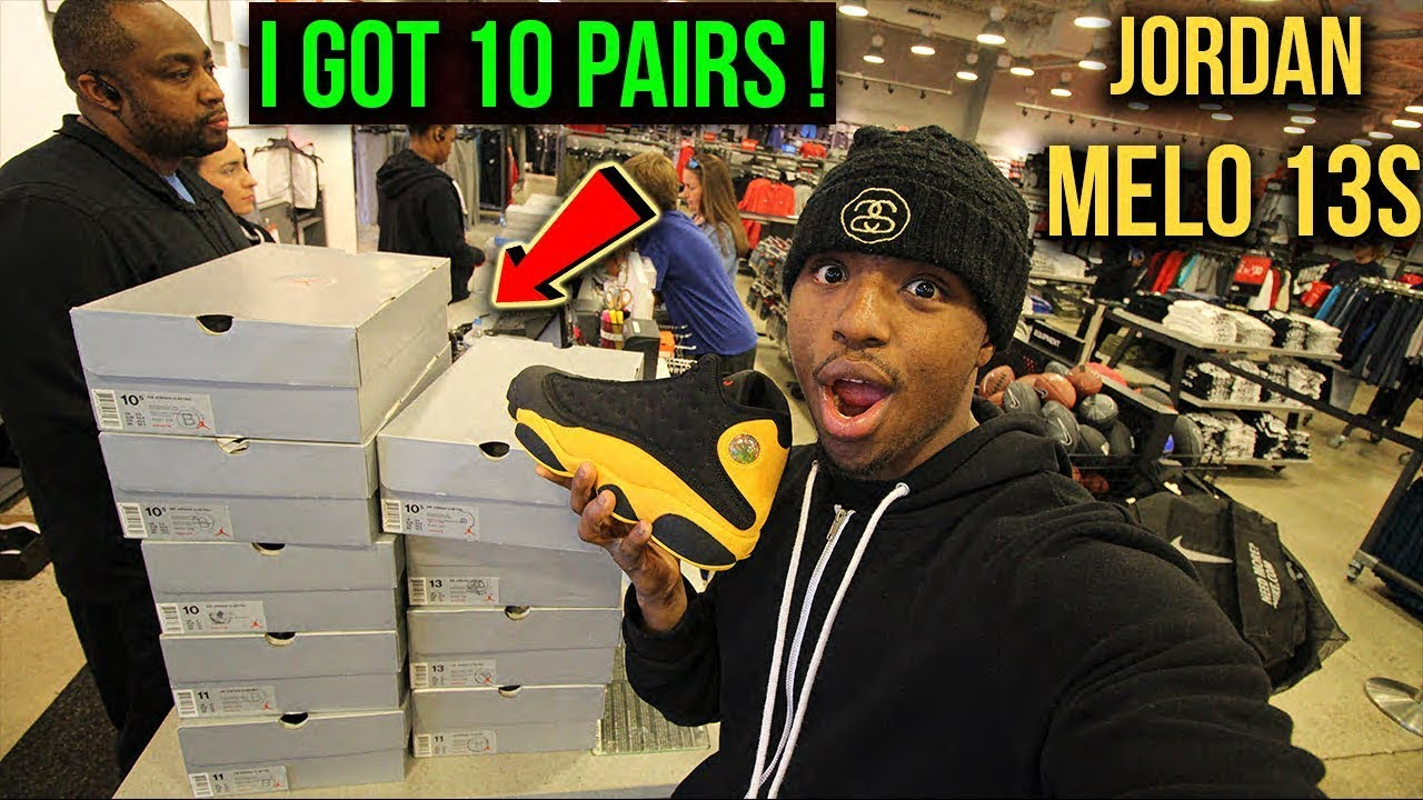 Air jordan melo 13s Nike Outlet - YouTube