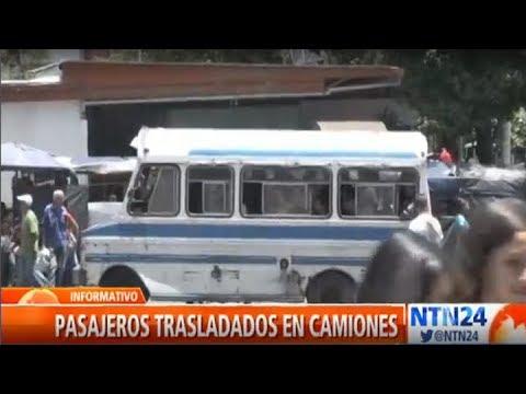 Vehículos de carga: El nuevo y peligroso transporte de los venezolanos