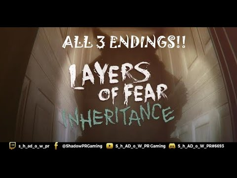 Layers Of Fear DLC Inheritance All 3 Endings |