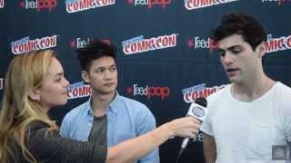 Harry Shum Jr. and Matthew Daddario 'Shadowhunters' Interview