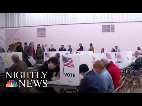 Voter Turnout Surges In U.S. Midterm Elections   NBC Nightly News