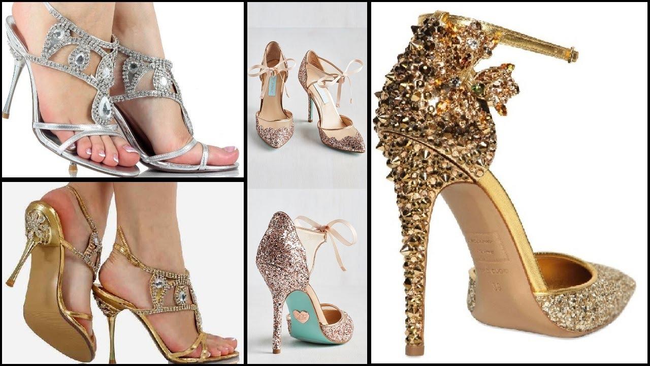 Partywear High Heels Designs
