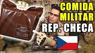 Probando Comida de Supervivencia Militar REPÚBLICA CHECA o CHEQUIA