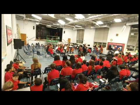 Brown Barge Middle School Orchestra Concert December 2019