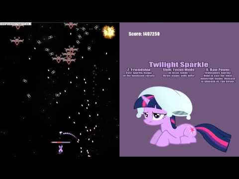My Little Pony Bullet Hell Update 1.1