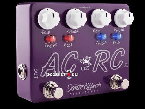 Xotic Effects OZ Noy AC/RC-OZ - Demo by Simon Gotthelf