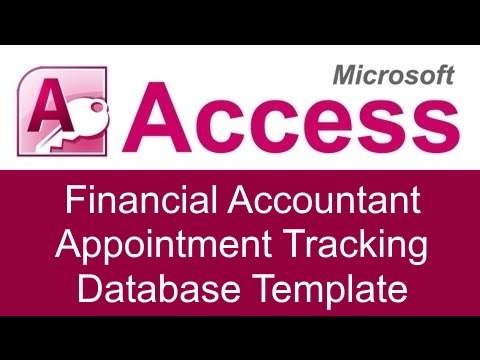 microsoft access financial database