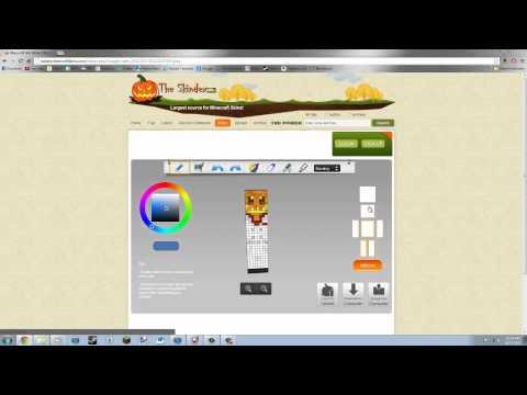 Minecraft Skin Editor (Easy) [Skindex Editor] 2012 - YouTube
