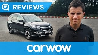 Honda CR-V SUV 2018 in-depth review | Mat Watson reviews