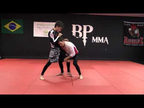 Chris Prickett Wrestling For MMA: Single Leg Control to Double Leg Takedown