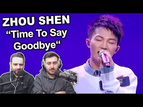 """Zhou Shen - Time To Say Goodbye"" Singers Reaction"