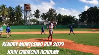 KENDRY MONTESINO RHP 2019