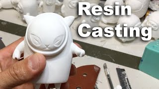 Resin Casting Tutorial: Casting resin, cleaning resin